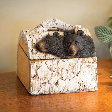 Birch Tree Bear Box