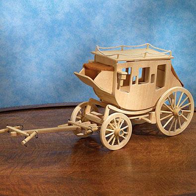 Stagecoach Model Kit