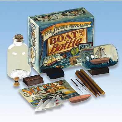 Build A Boat In A Bottle