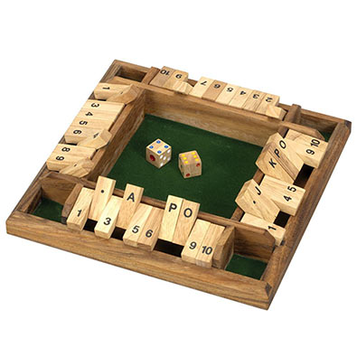 Four Player Shut The Box
