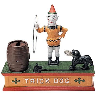 Trick Dog Money Bank