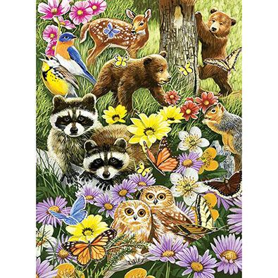 Bear Cub Playdate 1000 Piece Jigsaw Puzzle