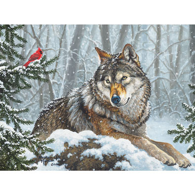 Winter Friends 500 Piece Jigsaw Puzzle