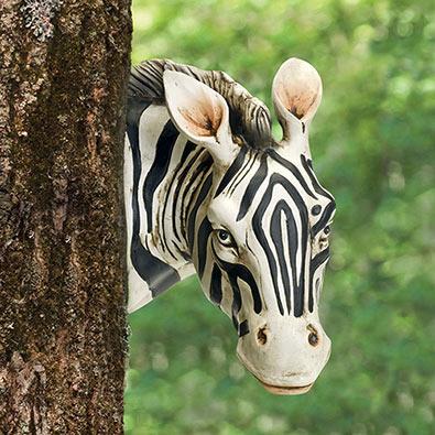 Zebra Tree Hugger