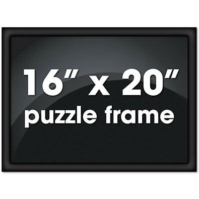 41cm X 51cm Custom Black Metal Channel Frame