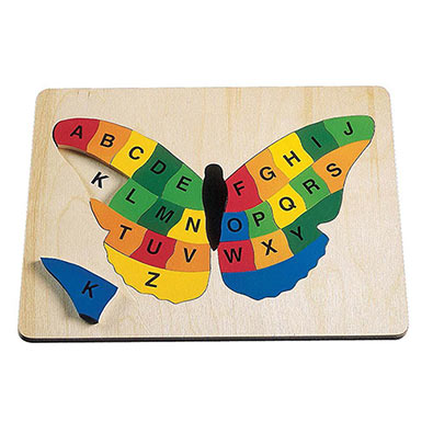 Alphabet Butterfly - Wooden Learning Puzzle