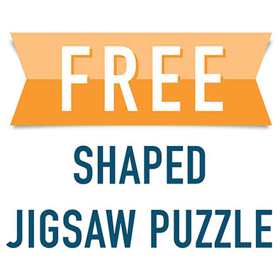Free Shaped Jigsaw Puzzle