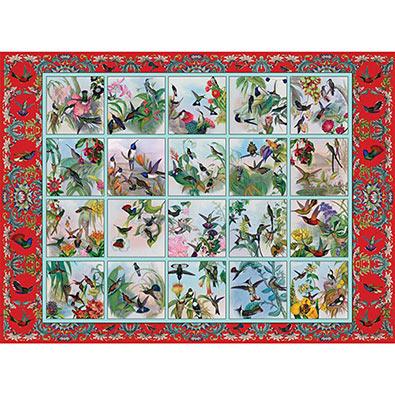 Hummingbird Garden Quilt 1000 Piece Jigsaw Puzzle