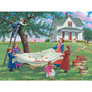 Bushels Of Fun 500 Piece Jigsaw Puzzle
