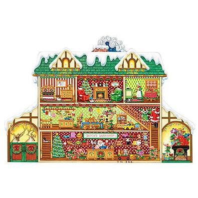 Santa's Workshop 750 Piece Jigsaw Puzzle