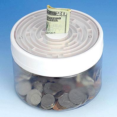 Maze Money Jar