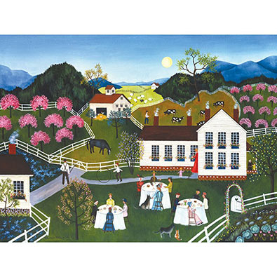 Garden Party 300 Large Piece Jigsaw Puzzle