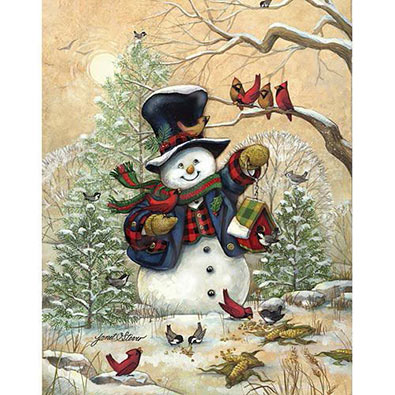 Winter Friends 1000 Piece Jigsaw Puzzle