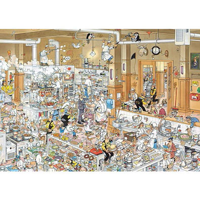 In The Kitchen 1000 Piece Jigsaw Puzzle