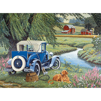 Gone Fishing 1000 Piece Jigsaw Puzzle