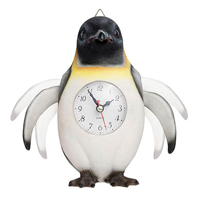 Penguin Motion Clock
