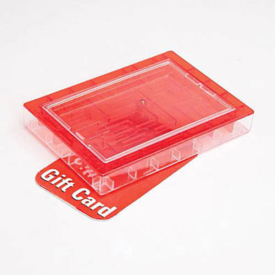 Gift Card Maze - Red