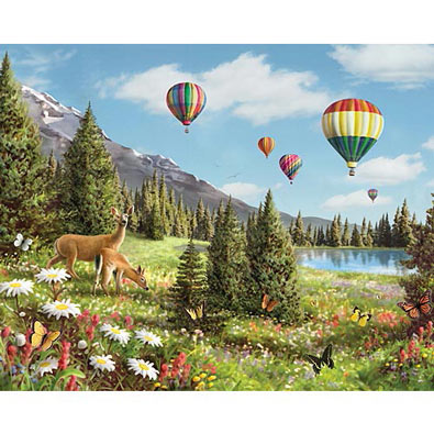 Floating On Air 1500 Piece Large Format Jigsaw Puzzle