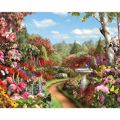 Butterfly Garden 500 Piece Jigsaw Puzzle