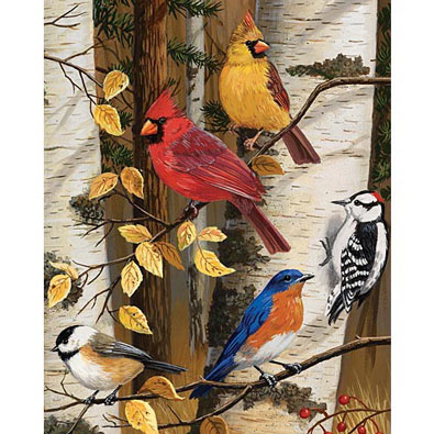 Autumn Friends 500 Piece Jigsaw Puzzle
