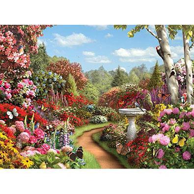Butterfly Garden 1000 Piece Jigsaw Puzzle