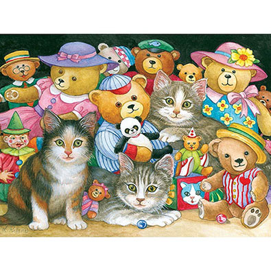 Teddy Bear Pals 300 Large Piece Jigsaw Puzzzle