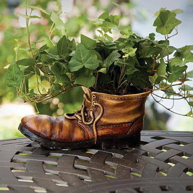 Work Boot Planter