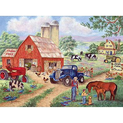 John's Farm 1000 Piece Jigsaw Puzzle