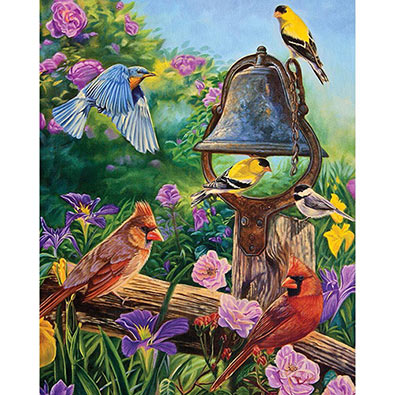 Garden Melodies 300 Large Piece Jigsaw Puzzle