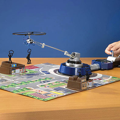 Helicopter Command Force Toy Set