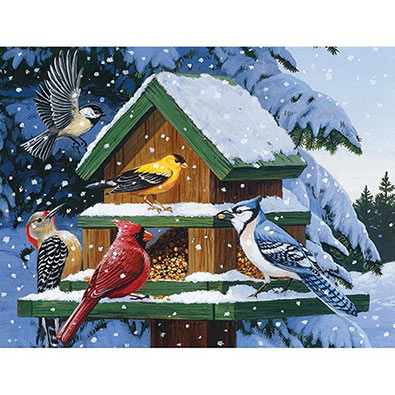 Winter Feast 1000 Piece Jigsaw Puzzle