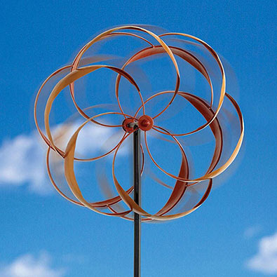 Flower Wind Spinner
