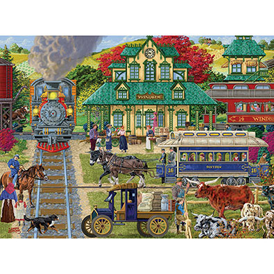 Windber Station 1000 Piece Jigsaw Puzzle