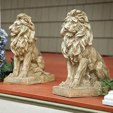 Majestic Lion Statue- Facing Left