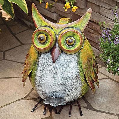 Owl Trash Can