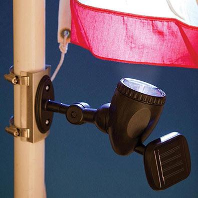 Solar Flagpole Light