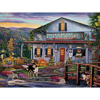 The General Mercantile 300 Large Piece Jigsaw Puzzle