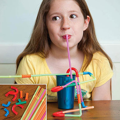 Build Your Own Fun Straw Kit