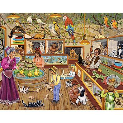 Pet Emporium 100 Large Piece Jigsaw Puzzle