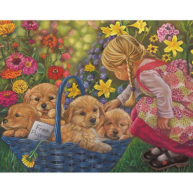 Basket Of Love 200 Large Piece Jigsaw Puzzle