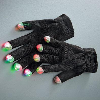 LED Flashing Gloves