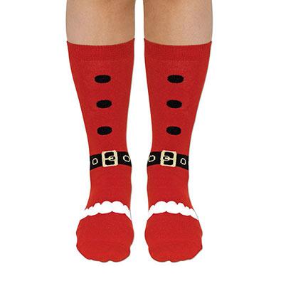 Santa Festive Holiday Socks