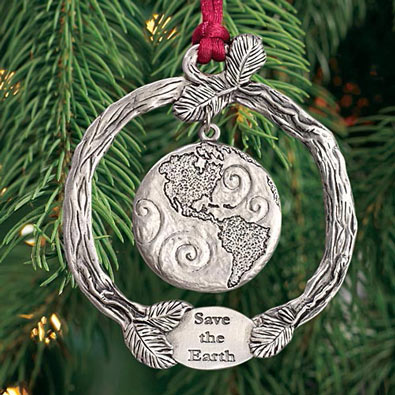 Plant-A-Tree Ornaments - Save The Earth Wreath
