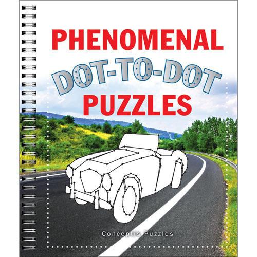 Phenomenal Dot To Dot Puzzle Book
