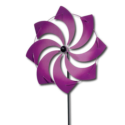 Purple Pinwheel Stakes