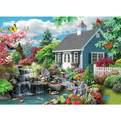 Summer Morning III 500 Piece Jigsaw Puzzle