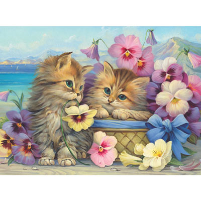 Friends Forever 300 Large Piece Jigsaw Puzzle