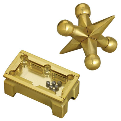 Set of 2: Pool Table Challenge and Brass Jax