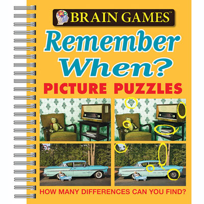 Remember When Picture Puzzle Book