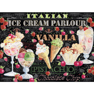 Ice Cream Parlour 1000 Piece Jigsaw Puzzle
